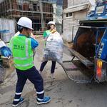 하남시의회 방미숙 의장·정병용 의원, 일일 환경미화원 체험
