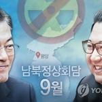 9월5일 대북특사단, 정상회담 준비 위해 … 북측에서도 회신