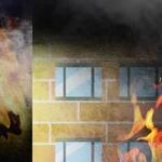 포항 식자재 마트에서 불 , 가마솥 식자 '악재'가 , 포크레인도 동원