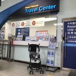 공항철도, 접이식 유모차 대여 서비스 시동