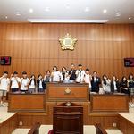 의정부시의회, '의정부 학생의회' 참여 중·고생에 민주시민 역량 교육