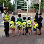 안양동안경찰서, 신기초 앞 어린이 교통안전 캠페인