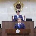"""평택시의회 김승겸 의원, """"대형 도시개발 사업 재점검""""지적"""