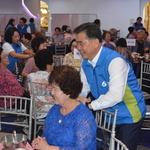 홀몸노인 명절 외로움 달래줄 문화잔치 신한은행 인천본부 150여 명 초청 행사