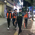 평택경찰서, 경찰·대학생 합동순찰 실시
