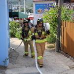 영종소방서 소무의도서 화재진압 역량 향상 훈련