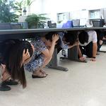 경인지방우정청, '민방위의 날 지진대피 훈련' 실시