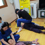 여주대 물리치료과  '한마음' 경로당 순회 하반기 재활봉사