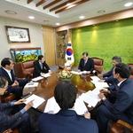 박윤국 포천시장, 농식품부 장관 만나 유통센터 건립 등 정부 지원 요청