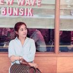 박은혜, 홀연히 씩씩하게 '혼행족'으로, 왕조현 닮은 데뷔초