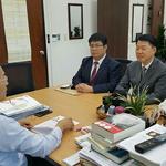 한국당 과천의왕 당원협, 선바위역 택지개발  반대 시민 목소리 당중앙 전달