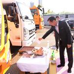 인천 연수구 신규 차량 무사고 안전운행 기원제 가져