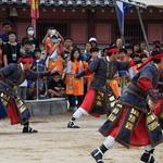 가을 휴일, 수원 화성행궁 무예 공연에 흠뻑 빠지다