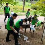 남동푸르미봉사단, 구월동 중앙공원 주변 쓰레기 청소 등 환경정화 활동