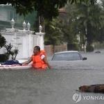 태풍 망쿳 필리핀 강타, 속수무책 튜브 위 생활을, 정치 긴장감마저