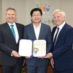 '물순환 인프라 구축' 앞장선 수원 에너지 글로브 어워드 국가상 수상