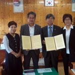 전곡중, 민주평화통일자문회의 연천군협의회와 평화통일 교육 업무협약 체결