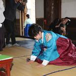 수원시의회 조명자 의장, 여성 최초로 고유별다례 참례