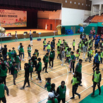 경기 가족봉사단 연합 체육대회 개최