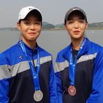 카누 쌍둥이 자매 쌍으로 메달 땄다
