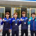 인천시체육회 탁구, 전국체전 데뷔전에 박찬혁 투입 적중