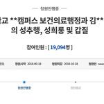 파주지역 대학 교수 성추행·갑질 의혹