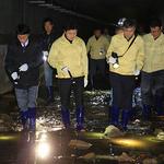 과천 김종천 시장, 양재천 수질 개선시설 점검 발길