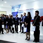 삼성바이오로직스 세계한상대회 홍보관 투어 참여