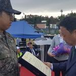 소이작도 주민 의료 불편 해소 공로 인방사 윤혁준 하사 '옹진군수 표창'