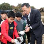 여주 남한강서  초등생 등  참여 물고기 방류 행사