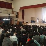 한국도박관리 경기북부센터, 백석고 학생에 '도박 예방연극'