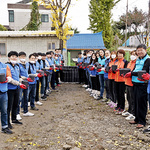 삼성전자·평택시청 봉사팀, 희망배달 활동