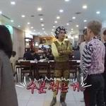 노라조, 무대 준비하는 모습 … 이동조차 '난해'