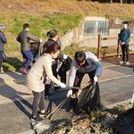 인천환경공단, 승기천 일대 환경정화 활동 실시