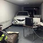 양평경찰서, 음주운전 차량 상가 사무실로 돌진 2명 부상