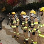 인천소방학교 장병 대상 화재진압 교육