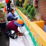 부천시, 도시재생  '마을벽화 그리기' 실습 마무리