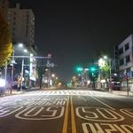 밤에도 환한 횡단보도… 보행자 안전 밝힌다