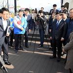 김현미 국토교통부 장관, 광주시 주요정책 현장 방문