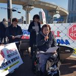 의정부시 청사 출입통제 시민단체는 '불통' 반발