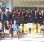 안성3동 통장단협,  쌀 10kg짜리  22포대 주민센터에 기탁