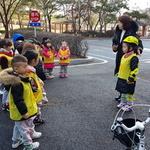 어린이들 자전거 안전교육에 귀 쫑긋