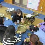 하남 창우초교, 지게 져보기 등 전통문화 코스  체험 활동