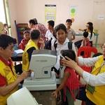 """캄보디아 프놈끄라움 마을, 수원시 의료봉사단에 """"어꾼 쯔란!""""(감사합니다!)"""