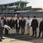 인천시의회 건설교통위원회, 신국제여객터미널 건설 현장 방문