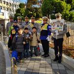 안양 범계초교서  '어린이보호 구역 속도 줄이기' 캠페인