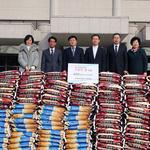 군포 산본감리교회, 10㎏짜리  쌀 400포 기부