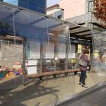 성남시, 버스정류장 7곳에 온열의자와 바람막이 시범 설치
