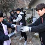 소외이웃 따뜻한 겨울 나기 연탄나눔 '구슬땀'