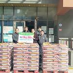 평택 세원전자&우신에너지, 팽성읍 행정복지센터에 쌀 기탁